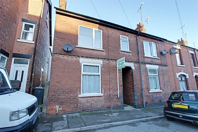 2 bed end terrace house to rent in Hope Street, Brampton, Chesterfield, Derbyshire S40
