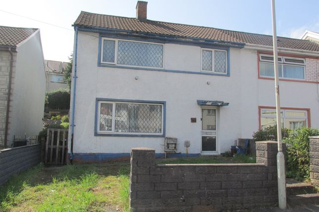 Thumbnail End terrace house for sale in Gurnos Road, Merthyr Tydfil