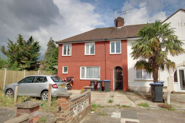 Thumbnail End terrace house to rent in Lansbury Avenue, London