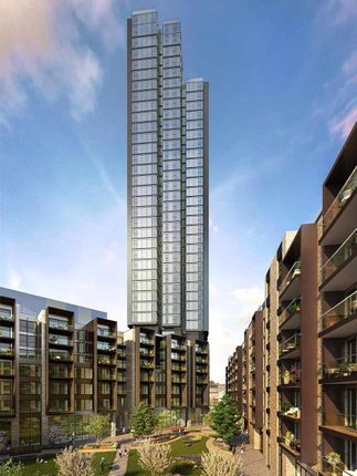 Thumbnail Flat for sale in Carrara Tower, 250 City Road, Old Street, London