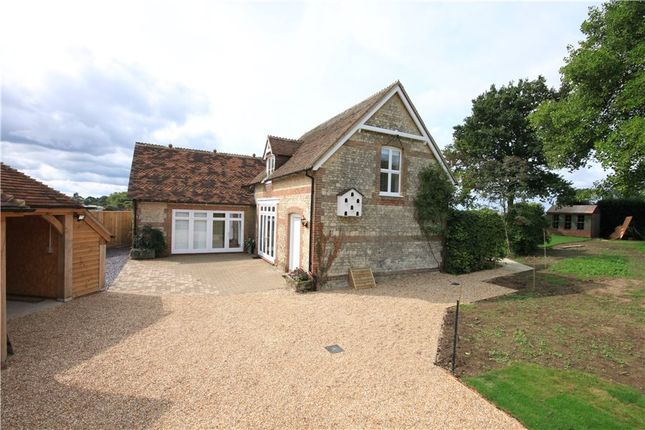Thumbnail Detached house to rent in River Hill, Binsted, Alton