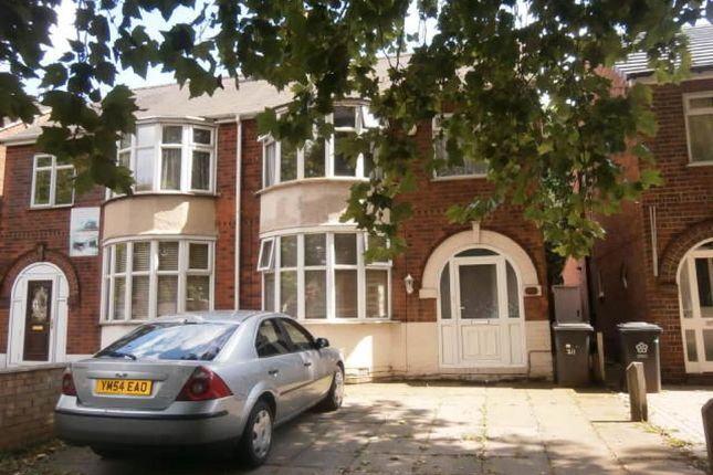 Thumbnail Semi-detached house to rent in Blackbird Road, Leicester