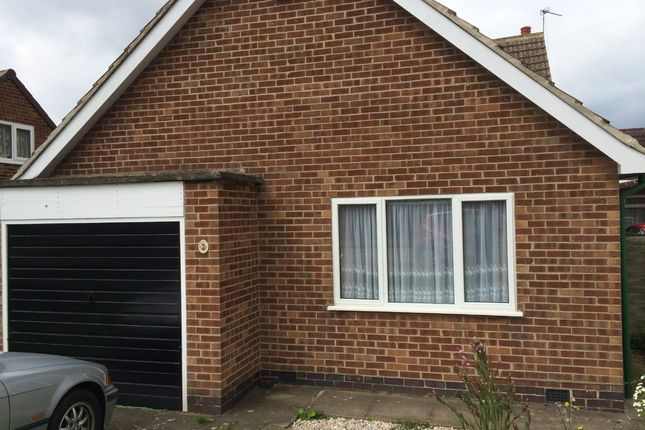 Thumbnail Detached bungalow to rent in Oakside Close, Leicester