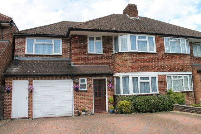 Thumbnail Semi-detached house for sale in Silverston Way, Stanmore, Middlesex