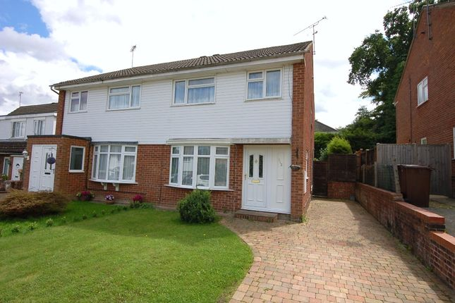 Thumbnail Semi-detached house for sale in Yaverland Drive, Bagshot