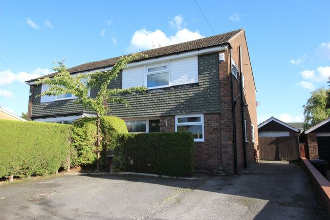Thumbnail Semi-detached house for sale in The Turnpike, Marple, Stockport