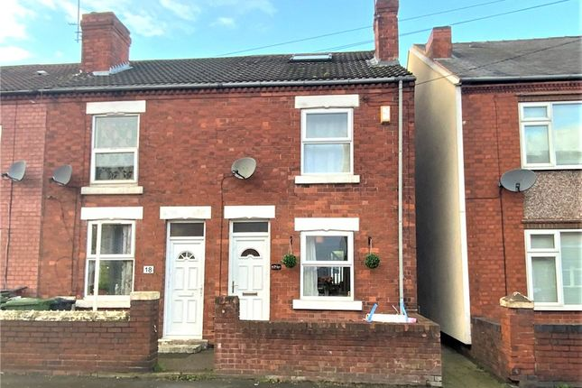 2 bed end terrace house for sale in Quarry Road, Somercotes, Alfreton DE55