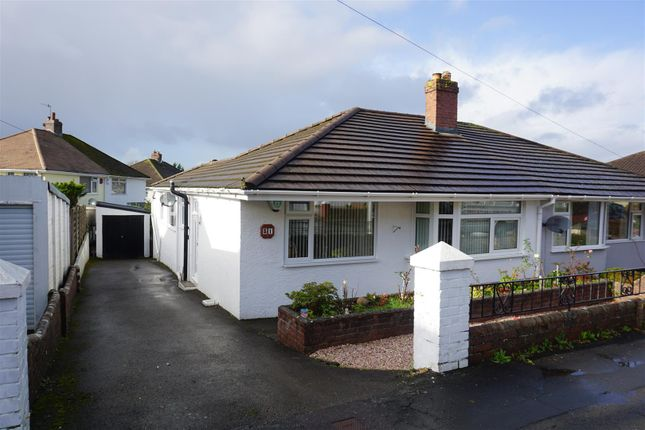 Thumbnail Semi-detached bungalow for sale in Woodford Avenue, Plympton, Plymouth
