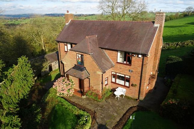 Thumbnail Detached house for sale in Stanley Bank, Stanley, Staffordshire
