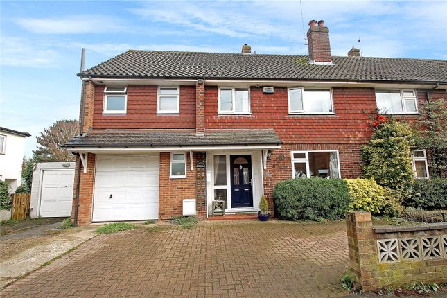 Thumbnail Semi-detached house for sale in Chevening Road, Chipstead, Sevenoaks