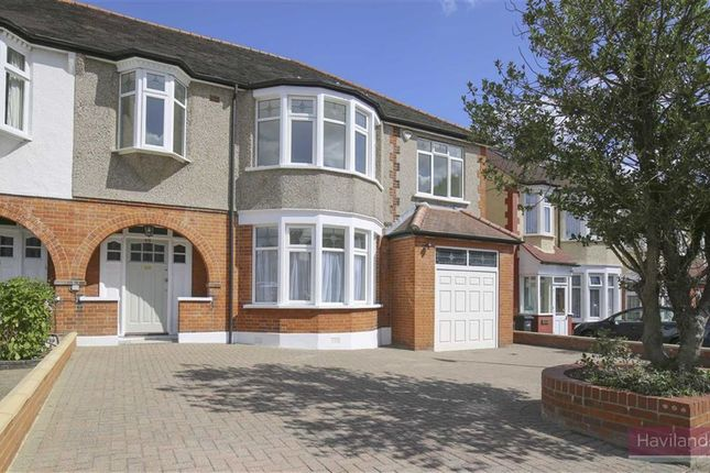 Thumbnail Semi-detached house for sale in Woodland Way, Winchmore Hill, London
