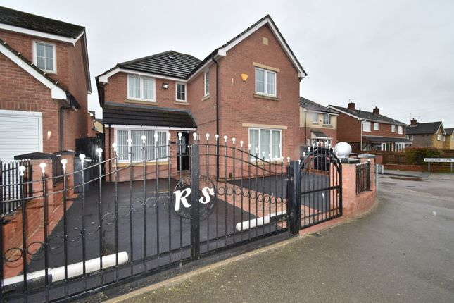 Thumbnail Detached house for sale in Nursery Road, Off Scraptoft Lane, Leicester