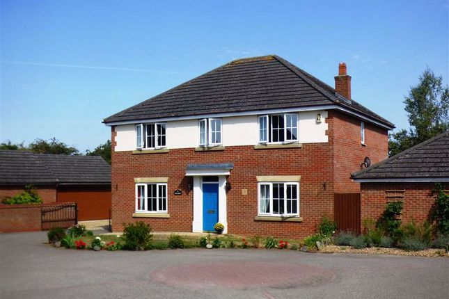 Thumbnail Detached house for sale in Morrison Park Road, West Haddon, Northampton
