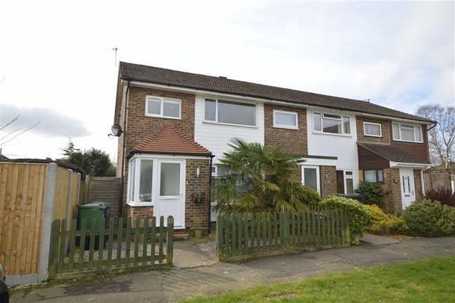 Thumbnail End terrace house to rent in Belvedere Gardens, Crowborough