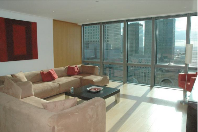 Thumbnail Flat to rent in West India Quay, Hertsmere Road, Canary Wharf, London