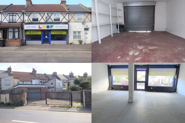 Thumbnail Retail premises to let in Singlewell Road, Gravesend, Kent