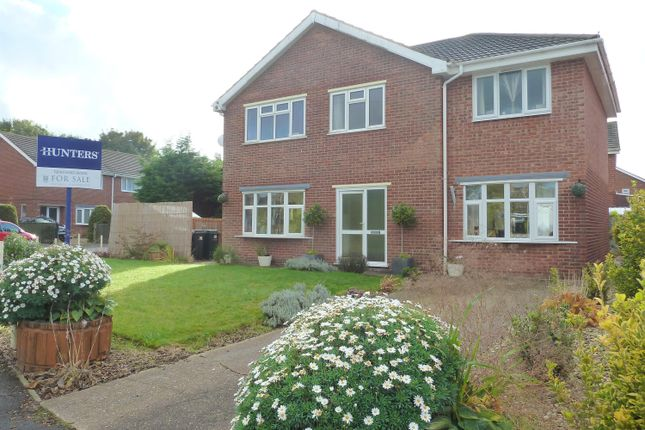 4 bed detached house for sale in Casswell Crescent, Fulstow, Louth