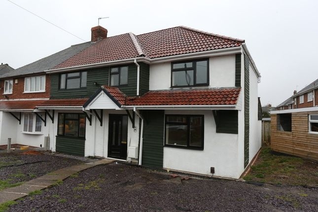Thumbnail End terrace house for sale in Wolmer Road, Wolverhampton, West Midlands
