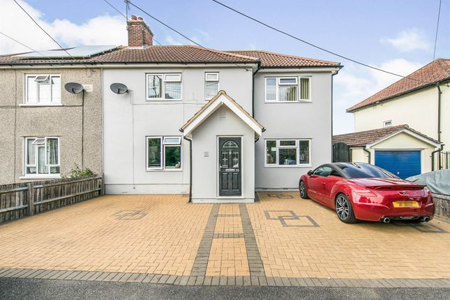 Thumbnail Semi-detached house for sale in Rectory Road, Rowhedge, Colchester