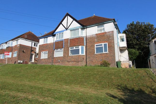 Thumbnail Flat to rent in Hillside, Brighton