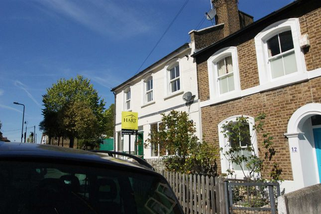 Thumbnail End terrace house to rent in Mill Hill Road, London