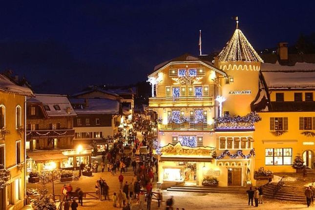 Local Area of Megeve, Rhones Alps, France