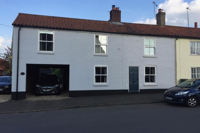 Thumbnail End terrace house to rent in The Street, Bintree, Dereham
