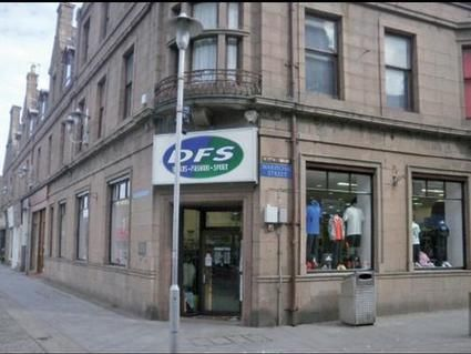 Retail premises to let in Marischal Street, Peterhead