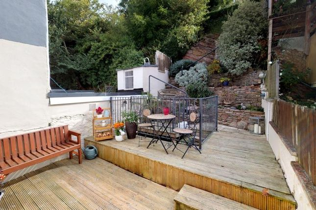 Deck And Garden of Mount Pleasant Road, Brixham, Devon TQ5