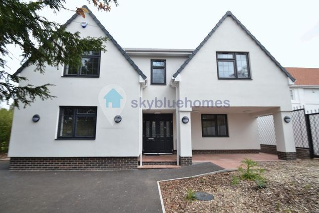 Thumbnail Detached house to rent in Stoughton Drive South, Oadby, Leicester