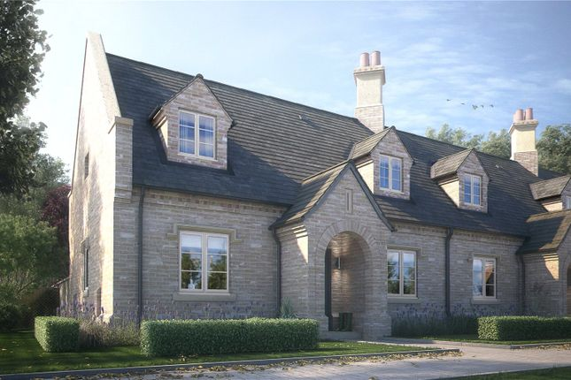 Thumbnail Terraced house for sale in Brampton Manor Gardens, Brampton Park, Huntingdon, Cambridgeshire