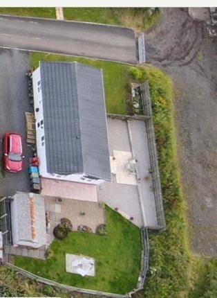 Aerial of Heather Bank Park, Neilston, Glasgow, East Renfrewshire G78