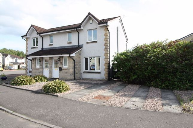 Thumbnail Semi-detached house for sale in 79 Moubray Gardens, Cambus, Alloa