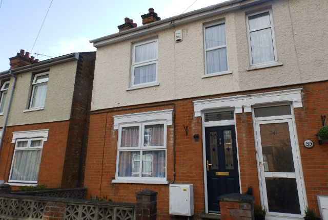 Thumbnail End terrace house to rent in Melville Road, Ipswich