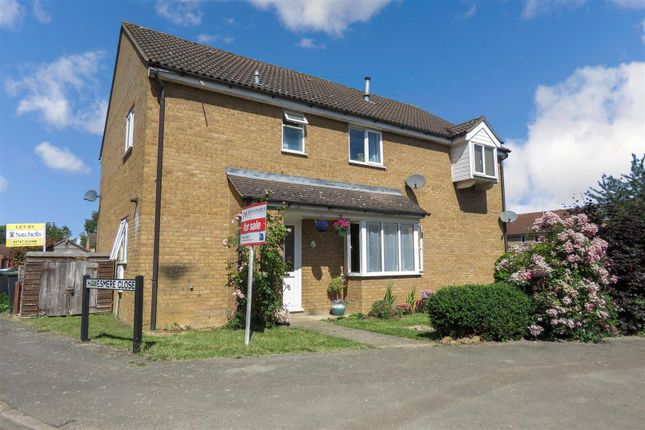 Thumbnail Detached house for sale in Hawesmere Close, Biggleswade