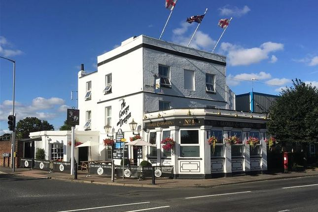 Thumbnail Leisure/hospitality for sale in London Road, Swanscombe