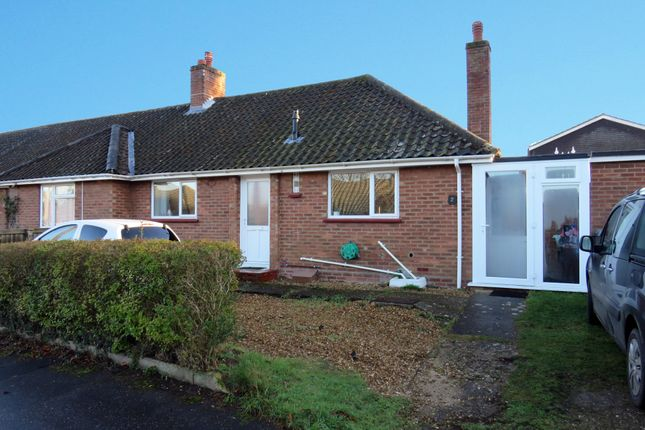Thumbnail Semi-detached bungalow for sale in Yelverton Close, Norwich