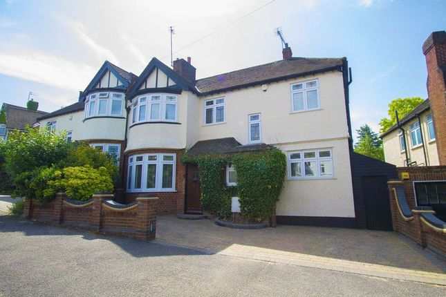 Thumbnail Semi-detached house for sale in The Charter Road, Woodford Green