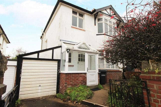 Thumbnail Semi-detached house for sale in Cedar Road, Paignton