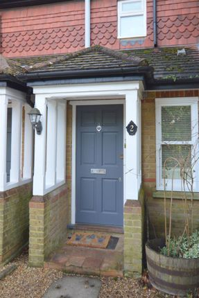 Entrance of Woodland Way, Kingswood, Tadworth KT20