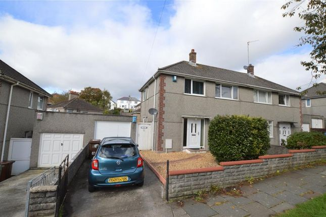 Thumbnail Semi-detached house for sale in Segrave Road, Plymouth, Devon
