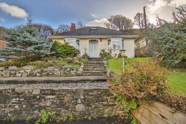 Thumbnail Detached bungalow for sale in Blaenavon Road, Govilon, Abergavenny