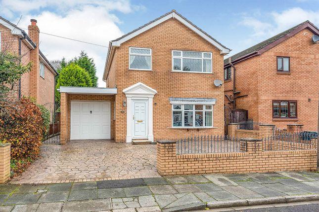 Thumbnail Detached house for sale in Derby Road, Skelmersdale, Lancashire