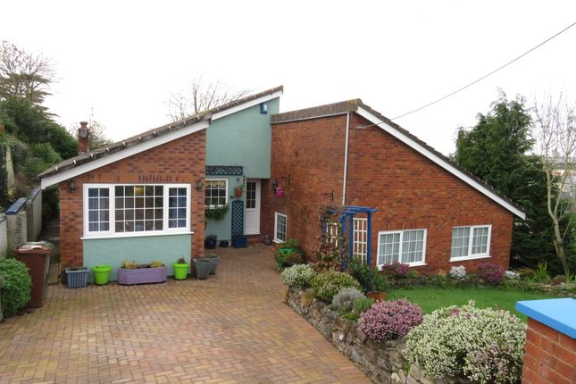 Thumbnail Detached bungalow for sale in Rocky Park Road, Plymstock, Plymouth