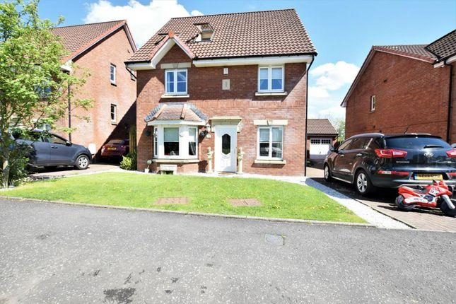 Thumbnail Detached house for sale in Dunnock Place, Coatbridge