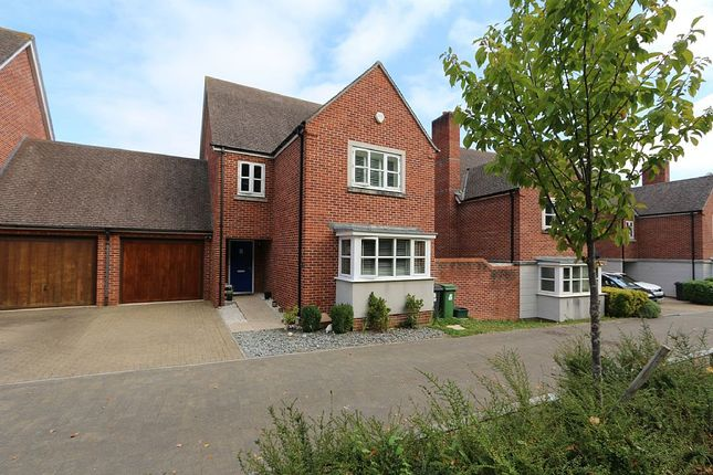 Thumbnail Link-detached house for sale in Cutting Drive, Basingstoke, Hampshire