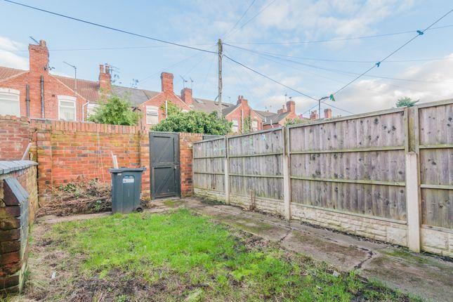 Garden of Spansyke Street, Doncaster DN4