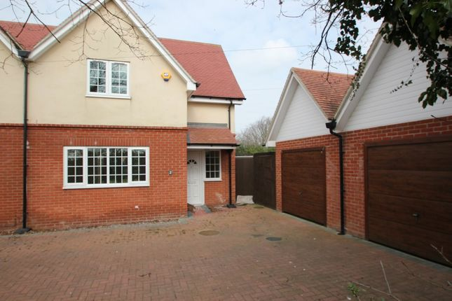 Thumbnail Semi-detached house to rent in Gosbecks View, Colchester