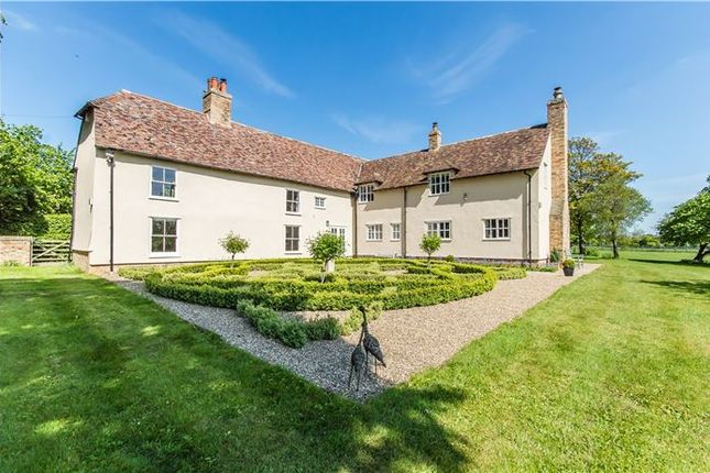 Thumbnail Detached house for sale in Manor Farm-Main Street, Caldecote, Cambridge