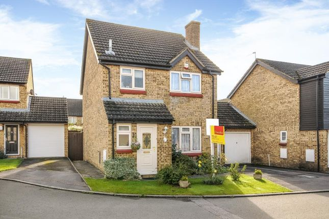 Thumbnail Link-detached house to rent in Burwell Meadow, Witney